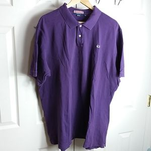 Vineyard Vines Purple Polo Sz XXL